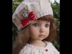 ropa de muñeca Tejida a crochet y dos agujas - YouTube