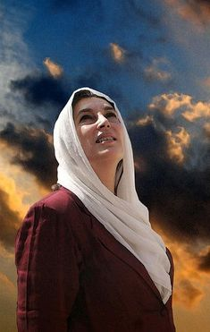 Benazir Bhutto the charismatic one. Despite of extreme hatred for zardari, love for benazir still prevails.