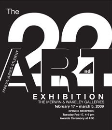 art exhibition posters | ... Wesleyan: Merwin and Wakeley Galleries to Host Student Art Exhibit