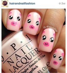 Uñas Nails peppa pig