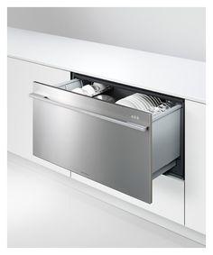 Fisher Pykel Wide Dishwasher Drawer.