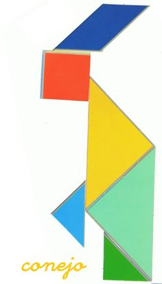 Tangram   Figuras para imprimir online Fun Worksheets For Kids, Business For Kids, Art Lessons, Symbols, Letters, Education, Busy Bags, Autism, Image Search