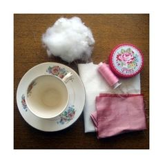 How to make a easy peasy teacup pincushion