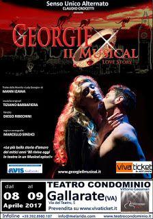 Claudia Grohovaz: Georgie il musical al Teatro Condominio di Gallara...
