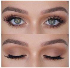 Best Wedding Makeup, Natural Wedding Makeup, Bridal Hair And Makeup, Natural Makeup, Natural Beauty, Bridal Makeup For Green Eyes, Green Eyes Makeup, Summer Makeup, Eyemakeup For Green Eyes