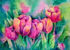 Private Lessons Available  Watercolor, Collage & Batik