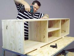 Find This Pin And More On Home U0026 Stuff. Build Your Own Tv Stand ...