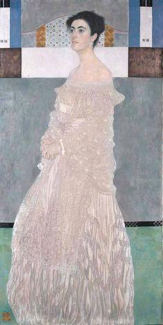 Gustav Klimt (Austrian; Art Nouveau, 1862-1918): Portrait of Margarethe Stoneborough-Wittgenstein, 1905