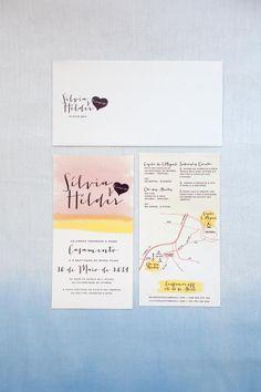 Convites Casamento // Wedding Invitations