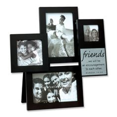 celebrate the friends who enrich your life with our friends collage frame this multi