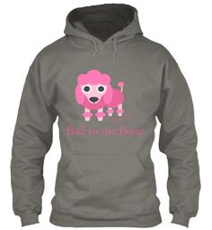 Bad to the Bone Pink Poodle Tees