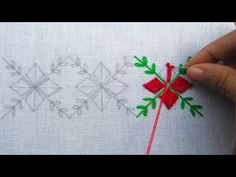 Hand Embroidery, Latest Border Line Embroidery, Border Design For Dresses – hand embroidery Hand Embroidery Patterns Flowers, Border Embroidery Designs, Hand Embroidery Projects, Hand Embroidery Videos, Hand Embroidery Flowers, Hand Embroidery Tutorial, Hand Work Embroidery, Hand Embroidery Stitches, Diy Embroidery