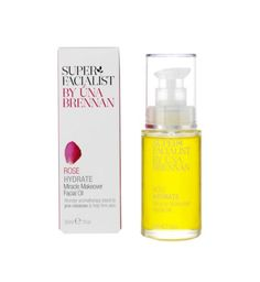 Anything Una Brennan is suppose to be good.  Superfacialist Rose Miracle Makeover Facial Oil 30ml - Boots