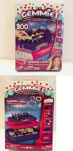 d9adc6d5d Craft Kits 116655: New Gemmies Sparkle Loom Fashion Kit Jewelry Making Craft  Toy Fashion Creations