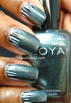 Zoya Cassedy Nail Art Design | Nails Beautiqued