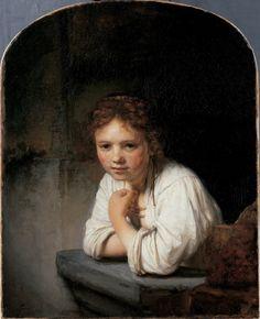 Rembrandt van Rijn, A Girl at a Window