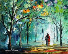 Browse through Leonid Afremov's online art portfolio.  Each image can be purchased as a canvas print, framed print, greeting card, phone case, and more.  I'm an artist Leonid Afremov. Love lays in the beginning of each my creations. I transfer only love onto a canvas.  My Official Shop:  www.Afremov.com   Biography:  Leonid Afremov was born in the family of a shoe designer and a metal plant engineer o...