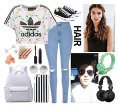 """Studio with Nate"" by stinkerbelle2000 ❤ liked on Polyvore featuring Glamorous, adidas Originals, Converse, MICHAEL Michael Kors, Amanda Rose Collection, Chanel, Bobbi Brown Cosmetics, REGALROSE, Urbanears and Skullcandy"