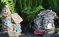 Build the cutest diy fairy garden houses ever! - mommy on purpose Fairy Garden Images, Fairy Garden Houses, Create A Fairy, Vegetable Garden Tips, Fairy Garden Supplies, Cute Fairy, Fairy Garden Accessories, Rustic Gardens, Cute Diys