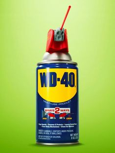 There have been more than 2,000 reported uses for WD-40 #hgtvmagazine // http://www.hgtv.com/design/decorating/clean-and-organize/creative-tips-and-uses-for-wd-40?soc=pinterest
