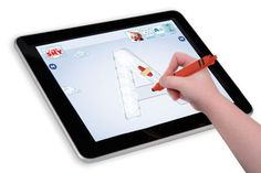 The AppCrayon by DanoToys is the first stylus I've ever seen with a triangular shaft designed by teachers and therapists for use by kindergarteners still working on their pencil writing grips. The stylus is plastic, slightly over sized and has a bit larger tip then most styluses making it perfect for kids.