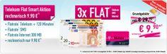 handysterne.de: T-mobile Flat Smart Aktion 9,90