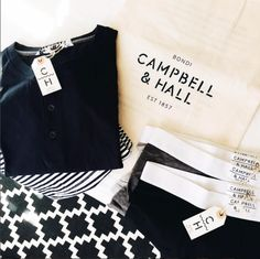 All About The Details. #campbellandhall #briefs #labels #packaging #menswear #tees