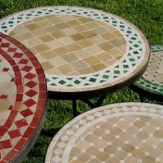 1000 Images About Mosaic Table Tops On Pinterest Mosaic