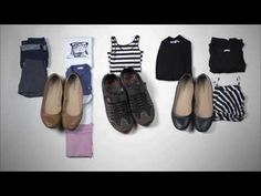 ▶ Packing Light: How to Pack for Two Months in a Carry-On - YouTube