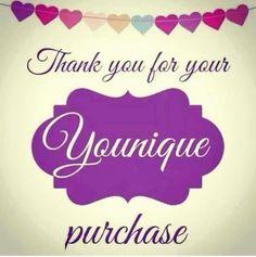 50 Best Younique Thank You Images Younique Younique Presenter