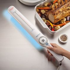 UV-C Sanitizing Wand - kills 99.9% of bacteria…what an interesting device.