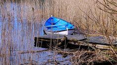 Blå båt - blå dager (jankidoy)