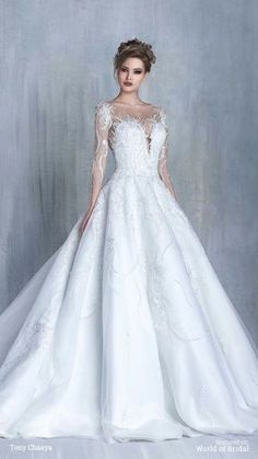 Cool and unique wedding gown. Beautiful Wedding Gowns, Dream Wedding Dresses, Bridal Dresses, Beautiful Dresses, Wedding Attire, Wedding Styles, Ball Gowns, Winter Bride, Wedding Games