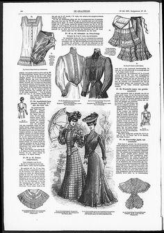 Gracieuse. Geïllustreerde Aglaja, 1905, aflevering 16, pagina 186