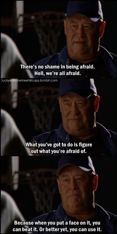 Whitey's wise words  -  One Tree Hill
