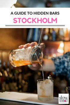 Where to find Stockholm's most unique and hidden bars. A guide on where to quench your thirst in Stockholm, Sweden. | Slow Travel Stockholm Blog