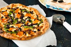 Sweet Potato & Black Bean Pizza with Goat Cheese by foodiebride, via Flickr