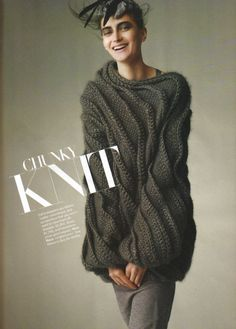 #knit Would look great with just at pair of heels and no pants, exept from maybe a pair of nylon stockings