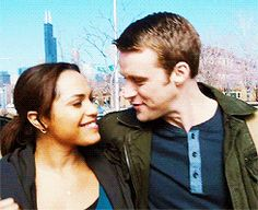 They are going to make such great parents :) #ChicagoFire