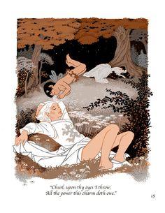 Character and Creature Design Notes: Sheilah Beckett Cute Illustration, Graphic Design Illustration, Shakespeare Midsummer Night's Dream, Comic Layout, Ligne Claire, Fairytale Art, Creature Design, Art Inspo, Illustrators