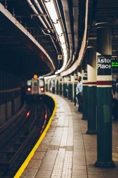 ASTOR PLACE SUBWAY STATION   ASTOR PLACE   EAST VILLAGE   MANHATTAN   NEW YORK   USA: *New York City Subway: IRT Lexington Avenue Line*