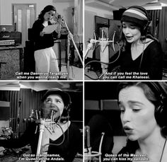 Emilia Clarke singing Rastafarian Targaryen (Game of Thrones: The Musical)