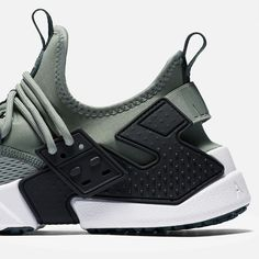 2d3ce9eed3231 Nike   Air Huarache Drift Breathe   Clay Green Black White Deep Jungle