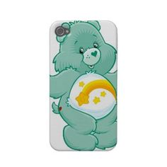 Care Bears iPhone 4/4s Case Rubber Case by SherrysStock on Etsy, $15.00