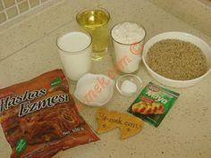 Haşhaşlı Çörek İçin Gerekli Malzemeler
