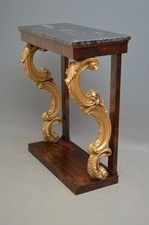 Magnificent Regency Console Table - OnlineGalleries.com