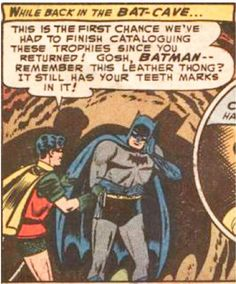 Comic Book Panels Taken Out of Context