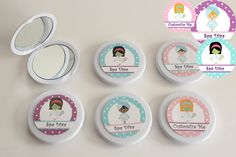 Girl Spa Party Favor  Spa Day Birthday  Custom by NanasPartyPalace, $15.00