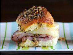 Oven Ham Sammies.  These are the BEST!  I've been making them for a long time.  Just finally pinning so it's with all of my other recipes.