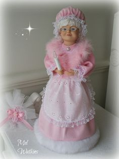 Our latest Pink Mrs Claus :) <3 <3 <3